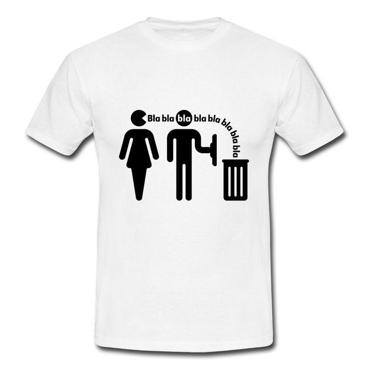 Bla bla bla (f/small), T-Shirt - Männer T-Shirt