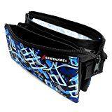 Helix Rawsharc Urban - Estuche de lona - Tres bolsillos - Estampado de camuflaje, color azul