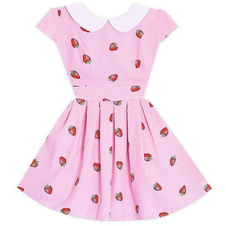 Strawberry Jam Cutie Dress