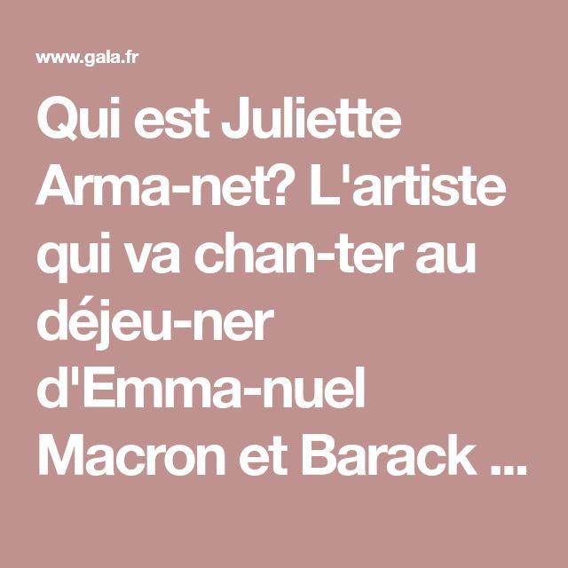 Qui est Juliette Armanet? L'artiste qui va chanter au déjeuner d'Emmanuel Macron et Barack Obama - Gala