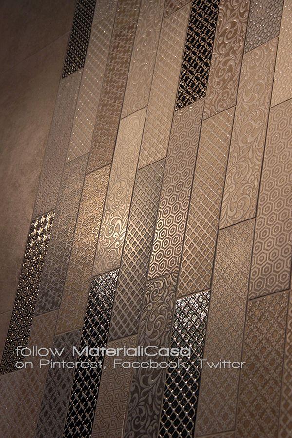 Nuove trame nelle collezioni Marazzi. #Cersaie2014 #CeramicTiles Company: Marazzi (Italy)