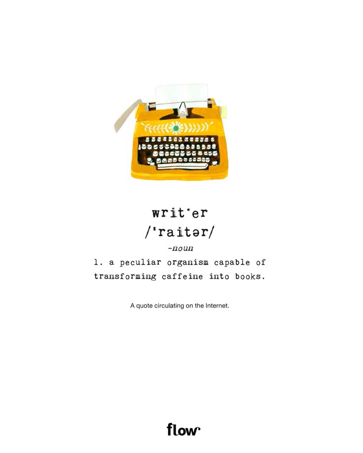 Anisa Makhoul illustrated the typewriter for this funny quote. You can find the quote in Issue 17 .