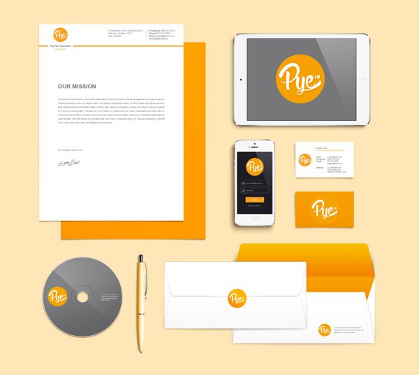 Pye FM by Emily Lowe, via Behance