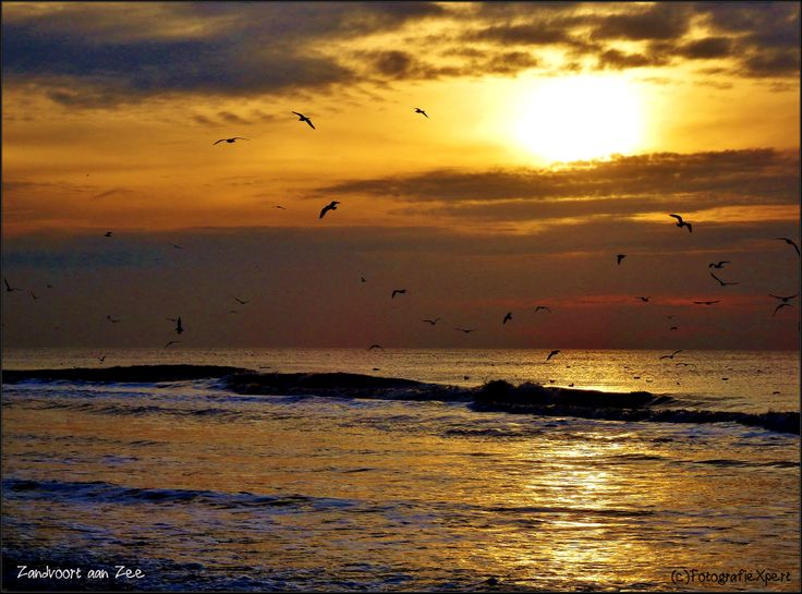 Sunset at the beach [Zandvoort aan Zee]
