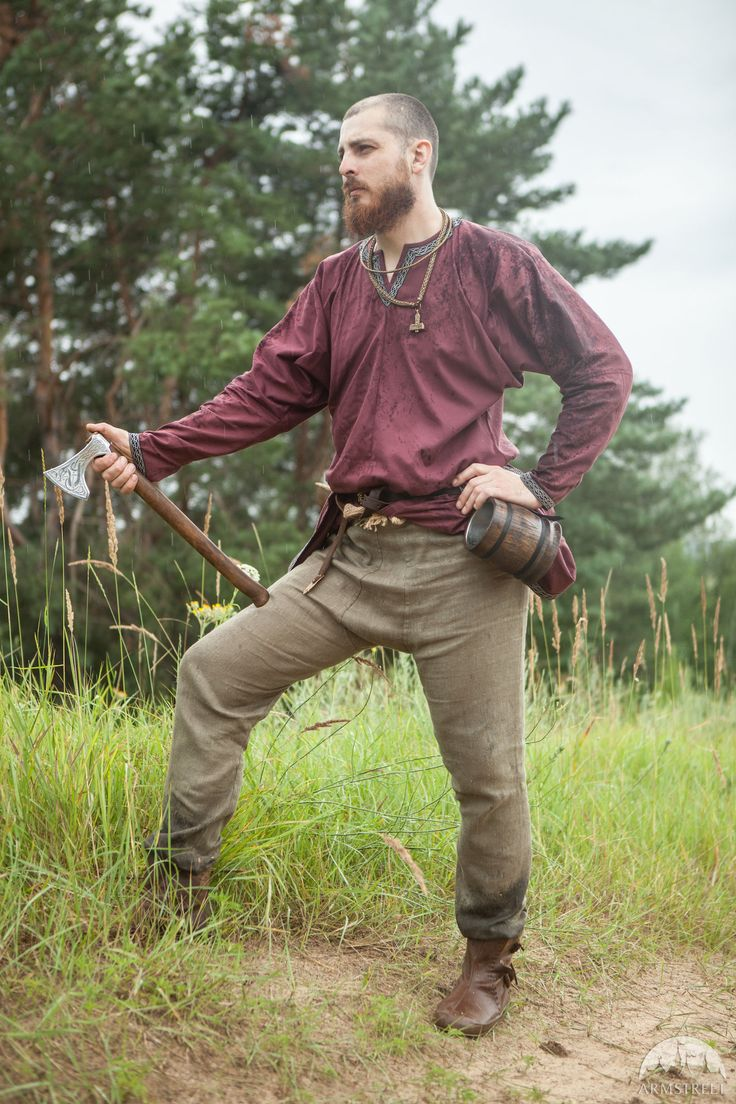 Viking Linen Pants u201cEricu201d  sc 1 st  Pinterest : simple viking costume  - Germanpascual.Com