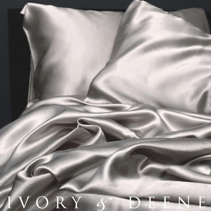 satin sheets SILVER  love my new sheets!!