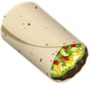 New Burrito Emoji! Trendy/Hipster/Tumblr/Meme