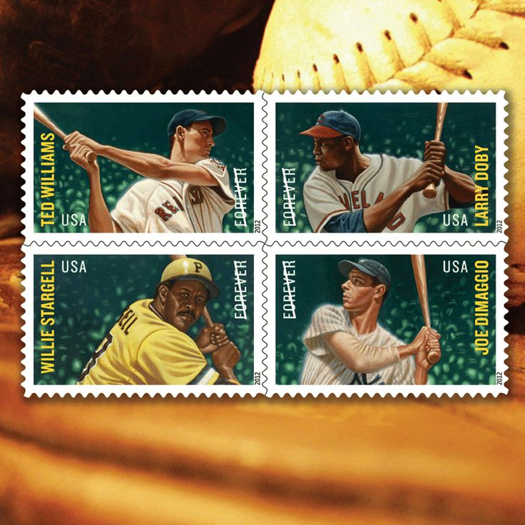 "Have fun with ""Baseball Stamps"" as your computers wallpaper image. See this and the many other stamp fun wallpapers available from the American Philatelic Society (www.stamps.org)"