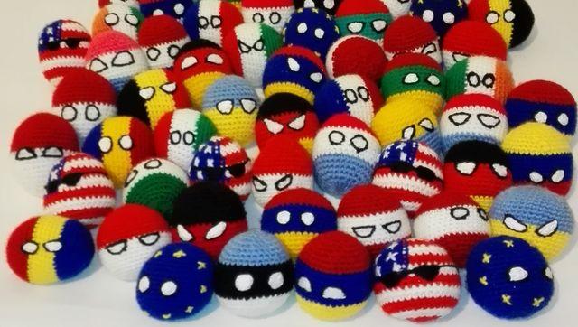 #Handmade #Countryballs