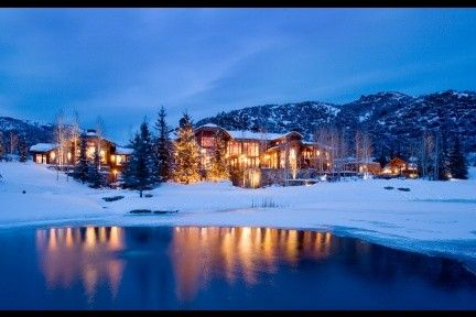 Aspen. Hubby would LOVE to snowboard and i could enjoy the scene, cuddle up with a book & cocoa!! Def something to plan when the boys are teens!