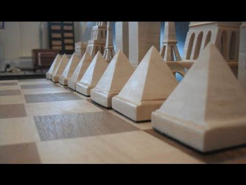 Make Your Own Wooden Chess Pieces On The Scroll Saw Pawn