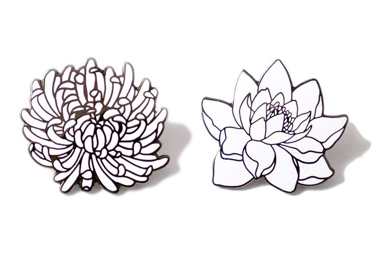 Sophia Flower Pin Pack