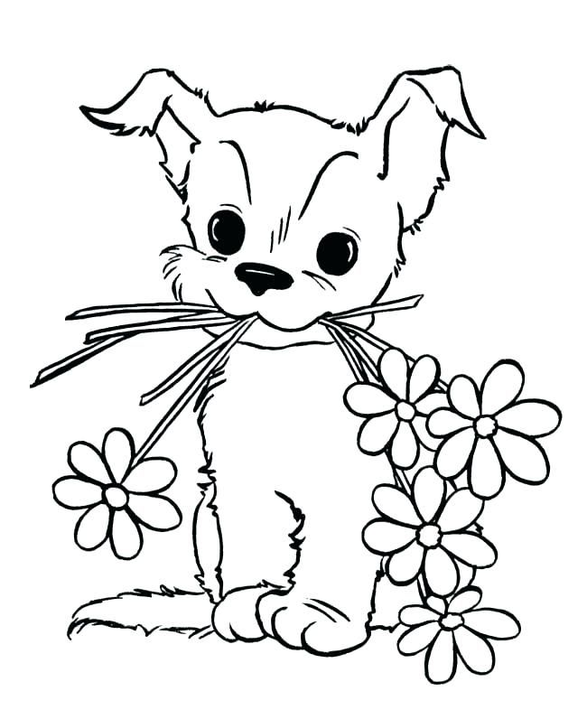 Printable Puppy Coloring Pages Ideas Puppy Coloring Pages Unicorn Coloring Pages Dog Coloring Page