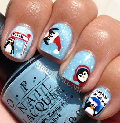 Rin's Nail Files: Christmas #nail #nails #nailsart