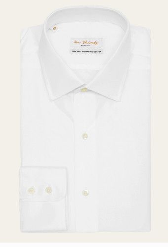 The only boyfriend shirt by Mr Shirts - White