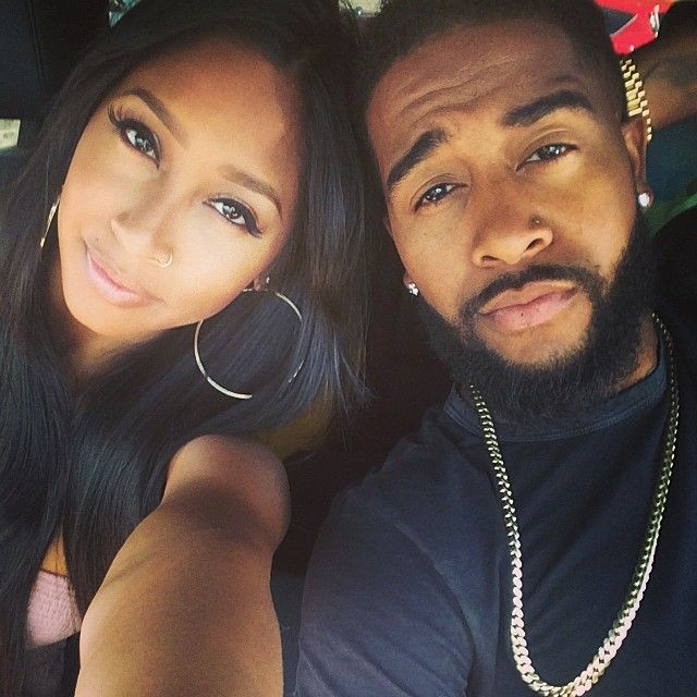 Omarion and his longtime girlfriend Apryl Jones have another little one on the way. Description from eurweb.com. I searched for this on bing.com/images