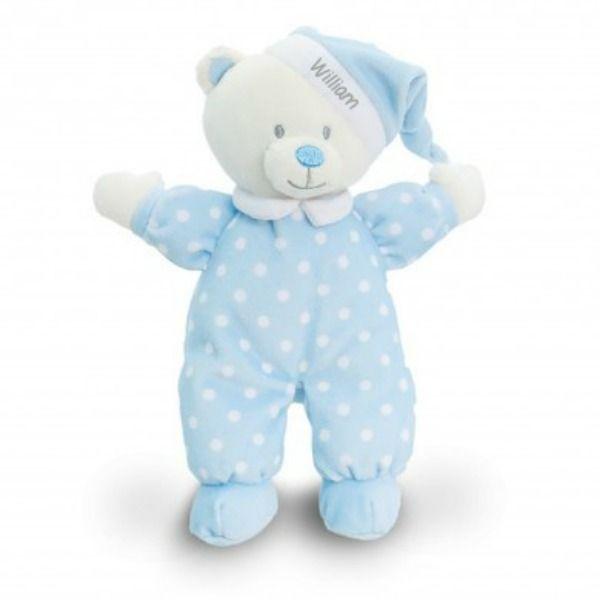 Blue Goodnight Bear