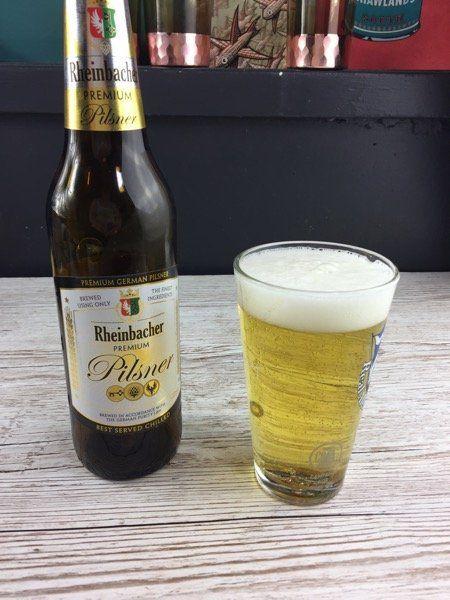Beer Review: Rheinbacher Premium Pilsner from Aldi
