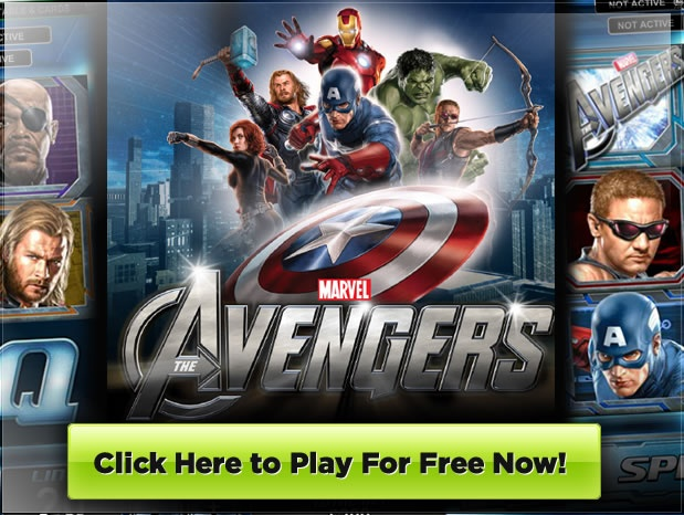 Marvel's The Avenger Video Slot by Playtech - read a detailed review and play for free