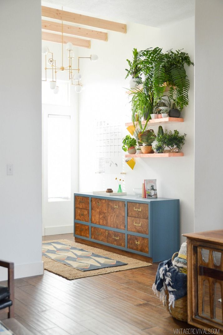 Loft Living Room & Entryway Makeover Reveal!
