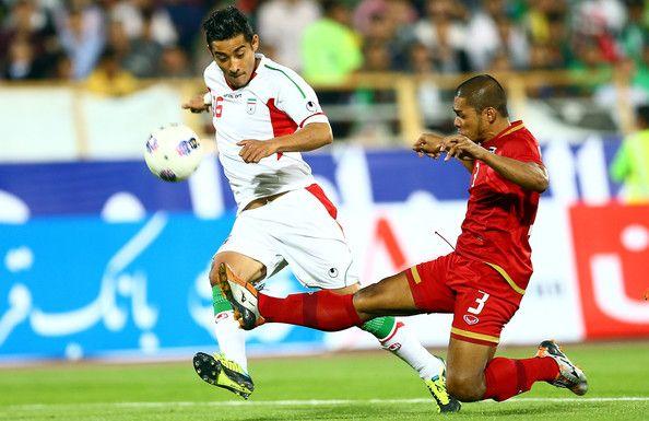 Reza Ghochannejad during AFC Asian Cup Qualifiers between Iran and Thailand at Azadi Stadium Tehran...
