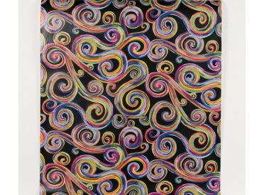 Psychedelic Swirl Paper Roll | Whish.ca - Shipping Across Canada