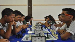 Em Timóteo, alunos do ensino médio participam de torneio de xadrez