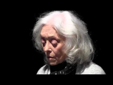 IL VICARIO di Rolf Hochhuth, adattamento e regia di Rosario Tedesco, 2016. Franca Nuti, legge la lettera della Ragazza di Ostia