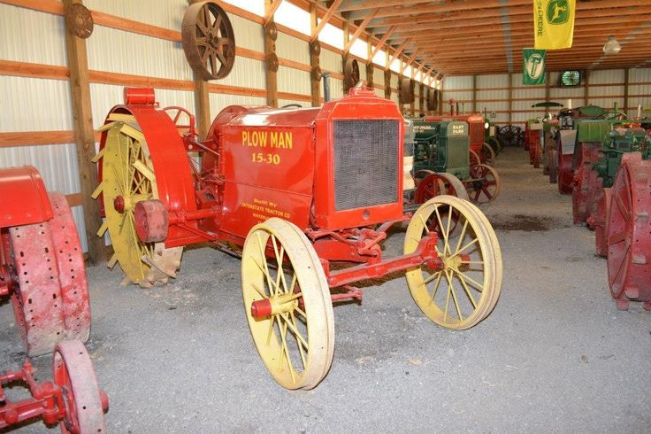 Here is a vary rare Plow man 15-30 tractor one of just a few know to exist to this day and this one beautiful restored