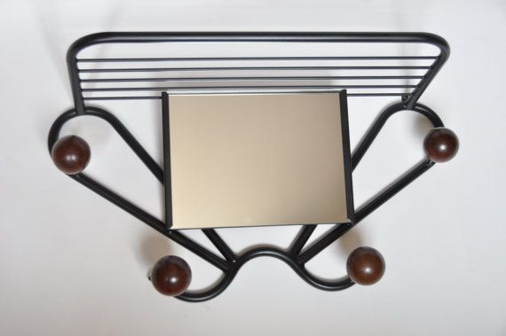 Mid-Century Clothing Rack  Vintage Wood Coat Hanger by lAccrocheur