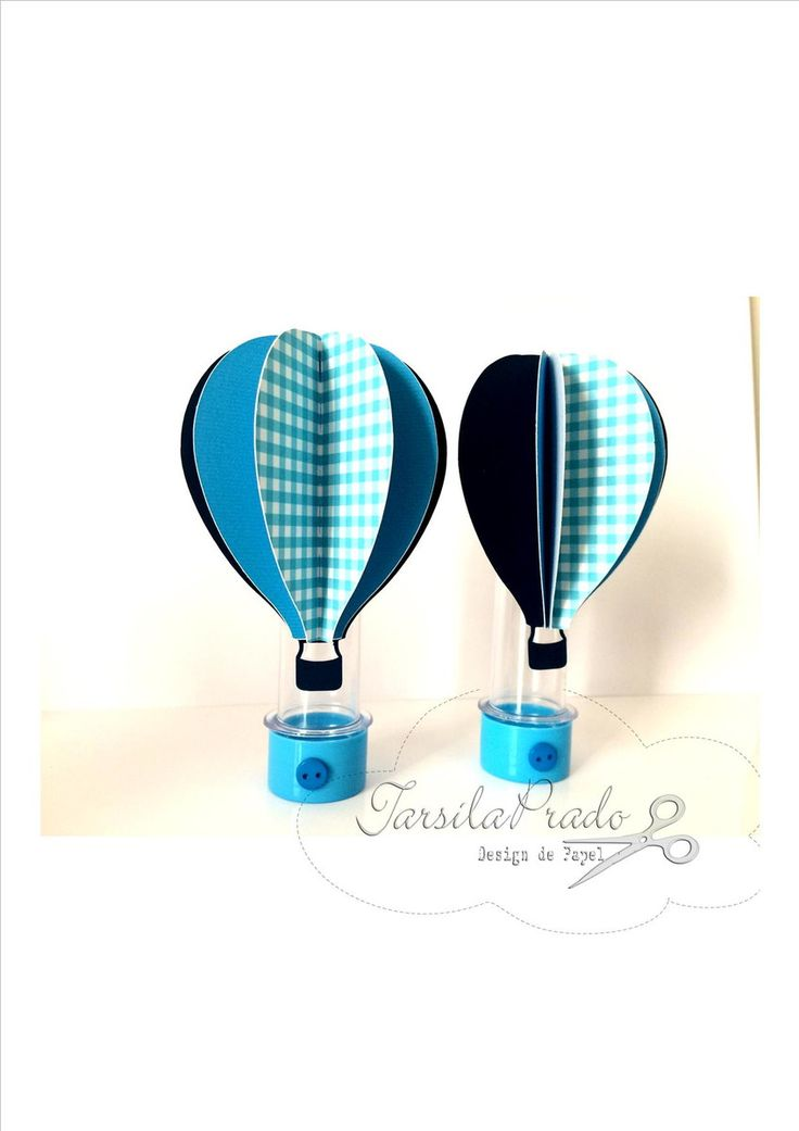 Tubete personalizado de balão de ar quente para festas do tema brinquedos