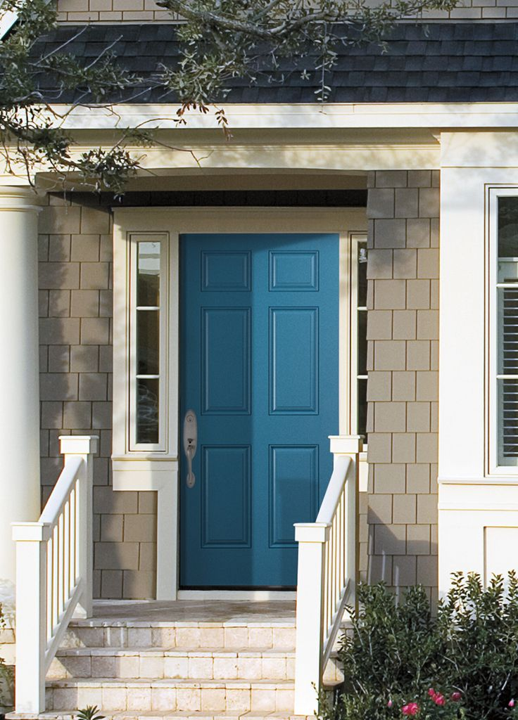 1000 images about paint colors for front doors on for Trendy front door colors