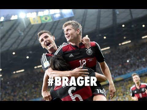 Deutschland - Brasilien (7:1): Halbfinale WM 2014 auf der Fanmeile in Berlin