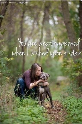 I simply love this... when you discover the dog that you were always meant to be with, you cannot go back.