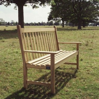 Bedale Bench, Hardwood Seating and Memorial Benches, outdoor wooden  benches, Manufacturers, Yorkshire