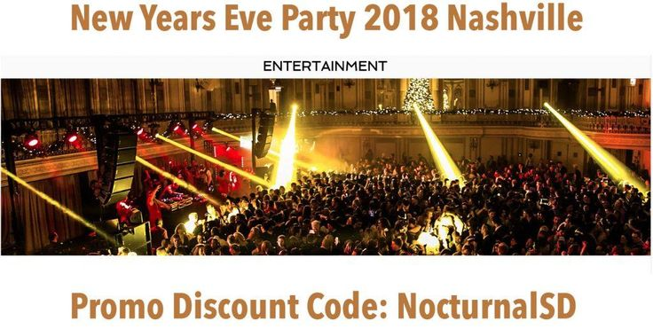 Big Night Nye 2018 Nashville Discount Promo Code Tickets Gala    Big Night New Years Eve Gala 2018 Discount Promo Code Tickets Nashville . This year it will be at the Gaylord Opryland Resort. Stay and play, get General Admission tickets, VIP Tickets, Red Velvet Tickets all at a discount with     promo code: Nocturnal or NocturnalSD  Facebook event   https://www.facebook.com/events/162759904459789…