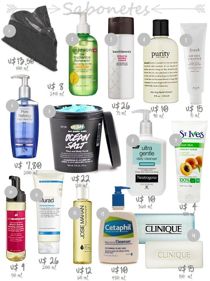 Minha Querida Necessaire » Guia de compras nos EUA | Parte 2 – Produtos para pele