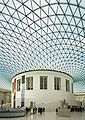Great court in British Museum in London by Foster partners