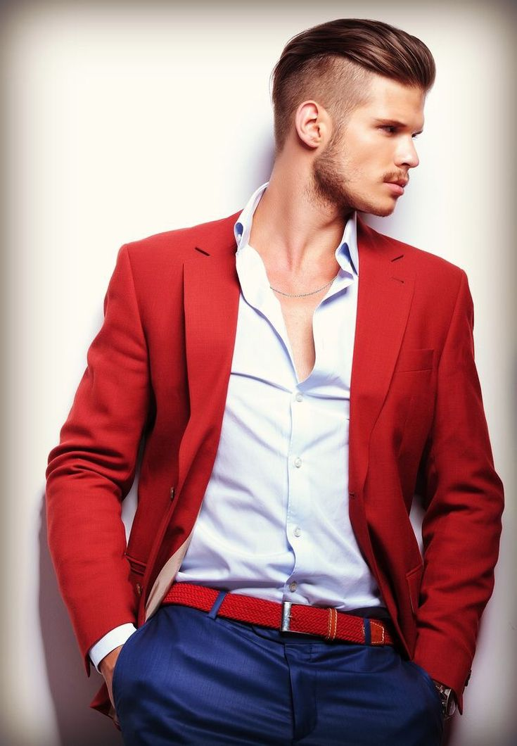 Red Blazer Jacket
