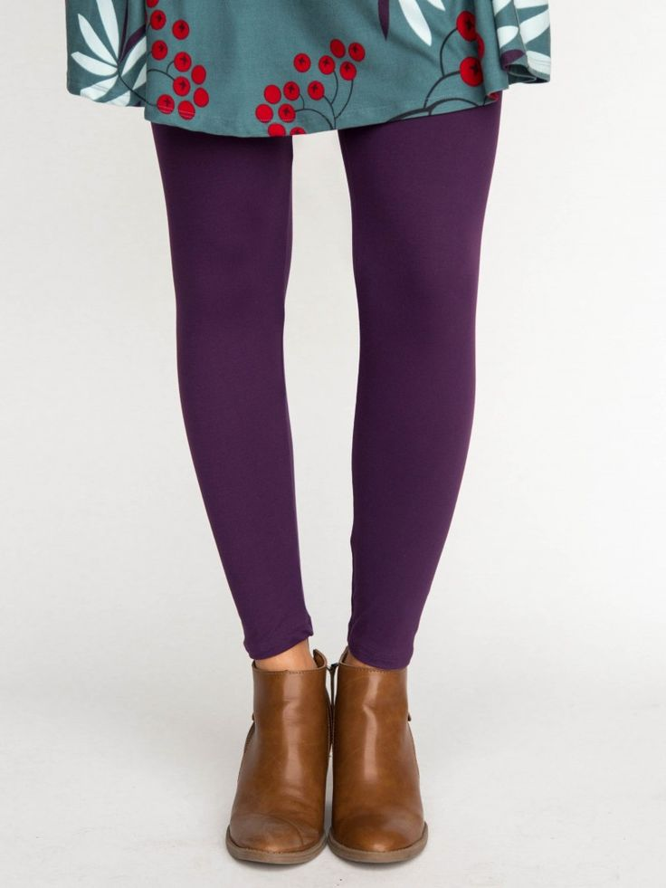 Best 25+ Purple leggings ideas on Pinterest | How to wear leggings Purple fall outfits and ...