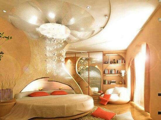 Not sure what this is.. but love it all the same. Fantasy Bedroom #interestingrooms
