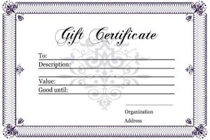 17 best ideas about gift certificate templates on for Gift certificate template google docs