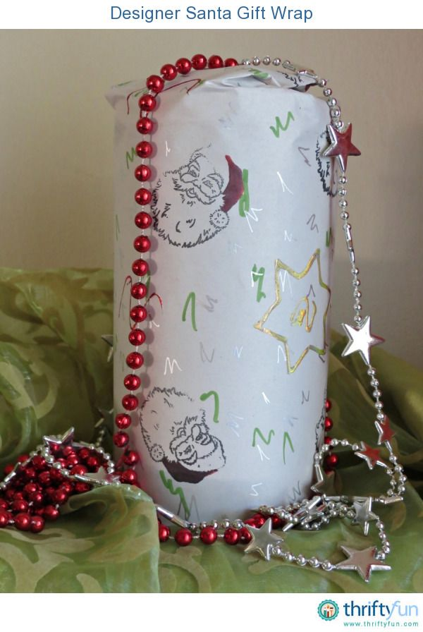 Turn unprinted newsprint paper into designer Christmas gift wrap. Stamp images of Santa and add stars to the paper. Add squiggly shapes and Z-shaped doodles, and create a foolproof collage. This beautiful gift wrap will add a special touch to your Christmas gifts, and the recipients will definitely feel that its time to celebrate!