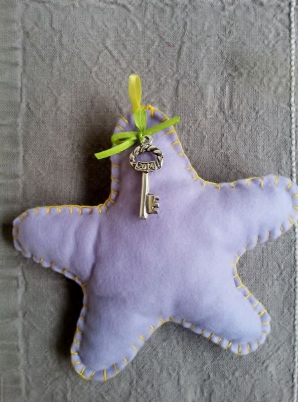 Handmade Christmas star