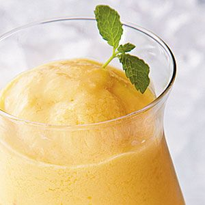 Fresh Peach Smoothie | MyRecipes.com