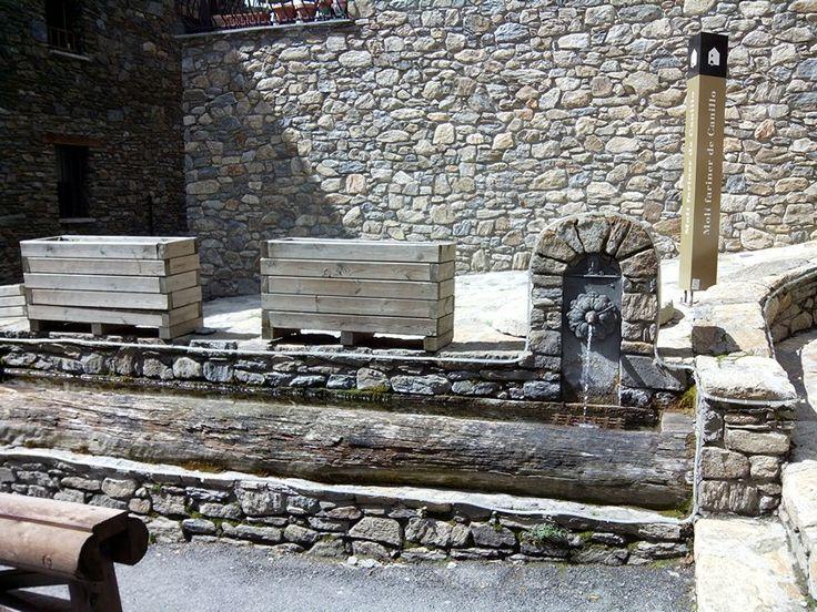 Font del molí. Canillo. Andorra.