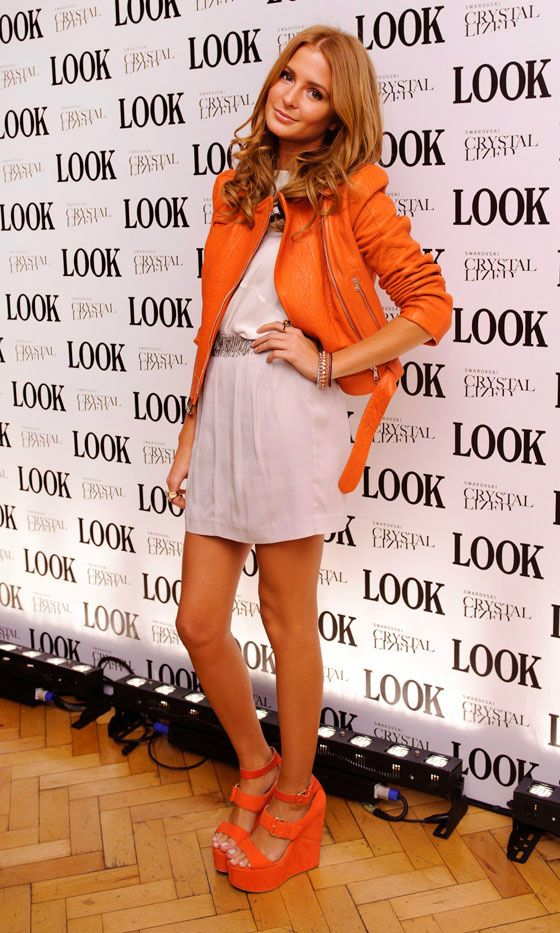 Millie Mackintosh in Orange