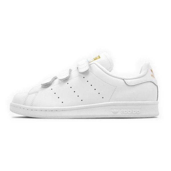 best prices performance sportswear best sale Adidas Stan Smith CF White S75188 white gold Mens Womans Casual ...