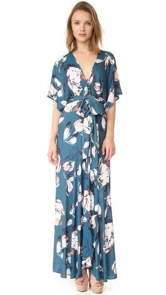 Yumi Kim Kimono Maxi Dress | SHOPBOP