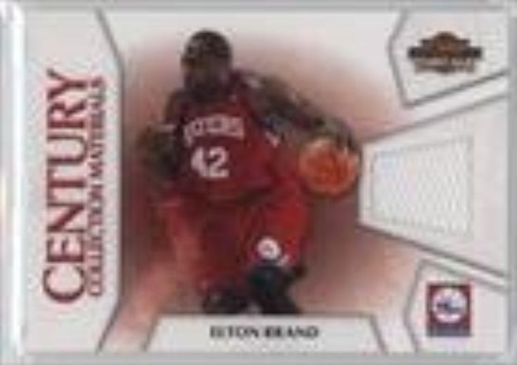 Brought to you by Avarsha.com: <div><div>2010-11 Panini Threads Century Collection Materials #17 - Elton Brand</div><ul><li>Qty Made: 399</li><li>Sport: Basketball</li><li>Great for any Elton Brand fan</li><li>This is a collectible trading card.</li></ul><div>Qty Made: 399</div></div>